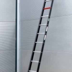 Altrex Nevada 1x10 Aluminium enkelladder (gecoat) Werkhoogte: 400 cm