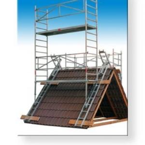 Aluminium daksteiger Geschikt voor hogere schoorstenen