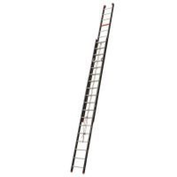 Aluminium ladder 2x18 (catrol) werkh. 9 meter