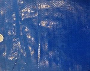 Dekkleden PE , Afdekzeilen Blauw