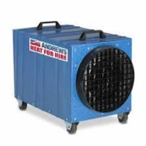 Electroheater Andrews; Sykes DE 65 10.300 kg/cal/uur, 380 volt met ventilator