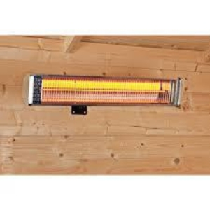 Quartz heater wandmodel